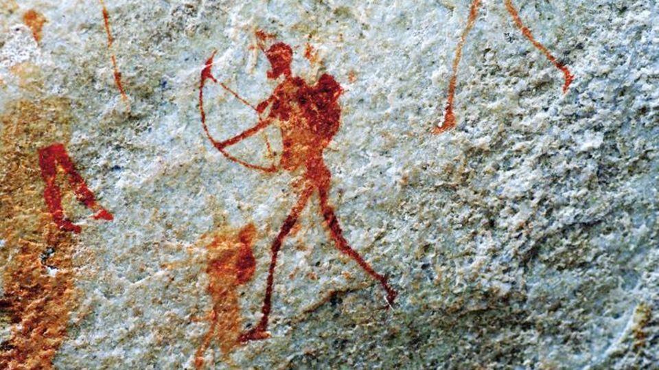 Die Felszeichnungen von Jägern aus der Kapregion Südafrikas sind bis zu 6000 Jahre alt