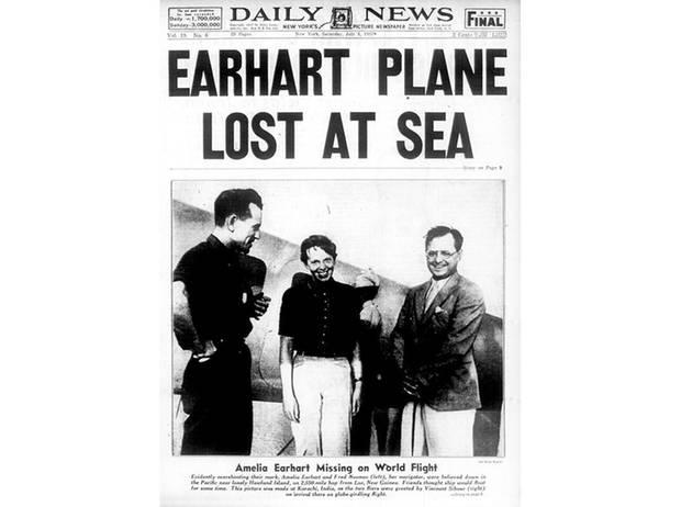 Die Welt war geschockt als die Pilotin verschwand.