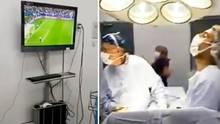 Chile: Ärzte schauen Fußball während OP - Confed Cup im Krankenhaus