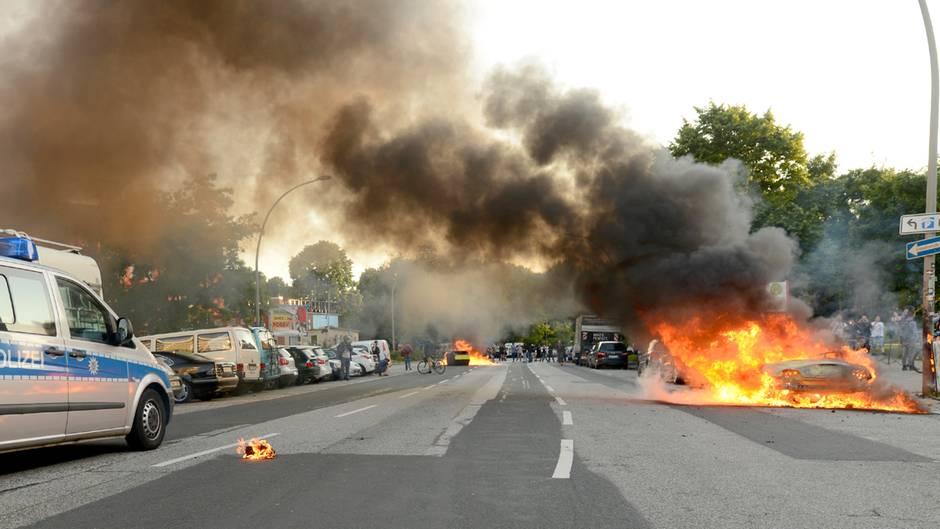 G20 in Hamburg: Der Tag danach: Videos aus einer aufgewühlten Stadt