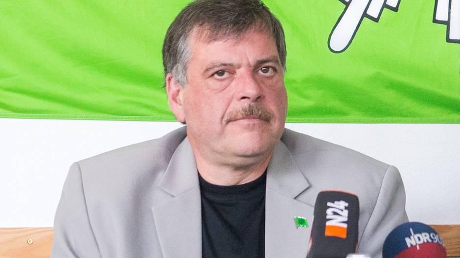 Gerhard Kirsch ist Chef der Hamburger Gewerkschaft der Polizei.