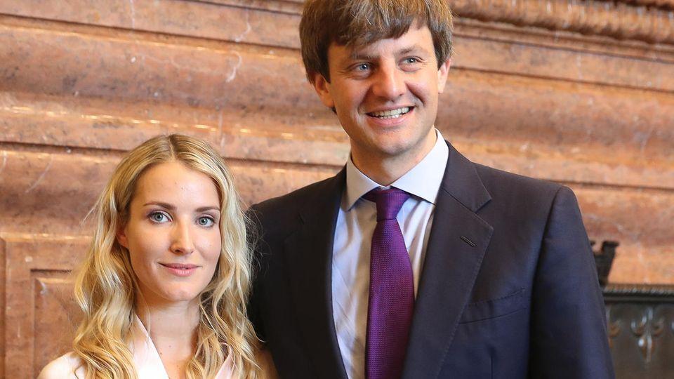 Ernst August von Hannover und Ekaterina Malysheva