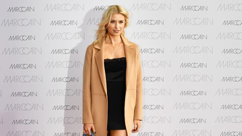 Lena Gercke auf der Fashion Week