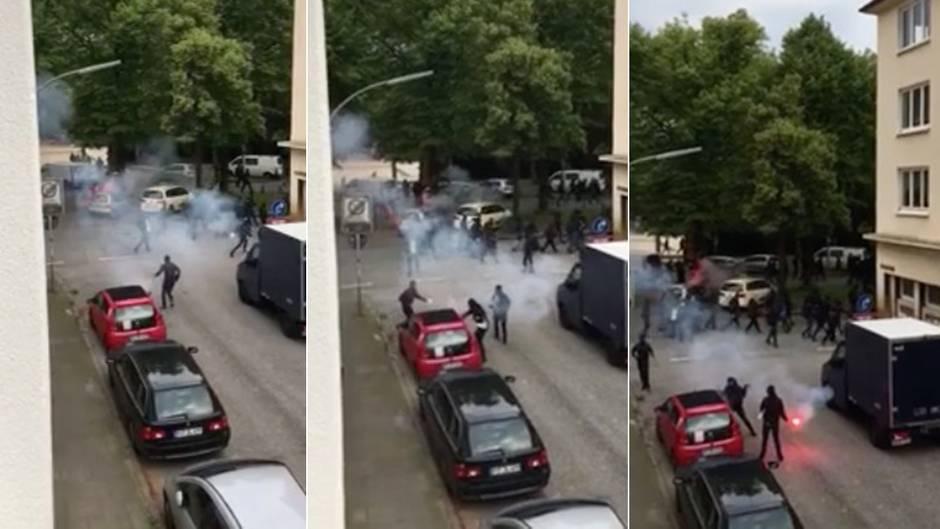 G20-Protest: Gewalt auf Hamburgs Straßen: Wo ist die Polizei?