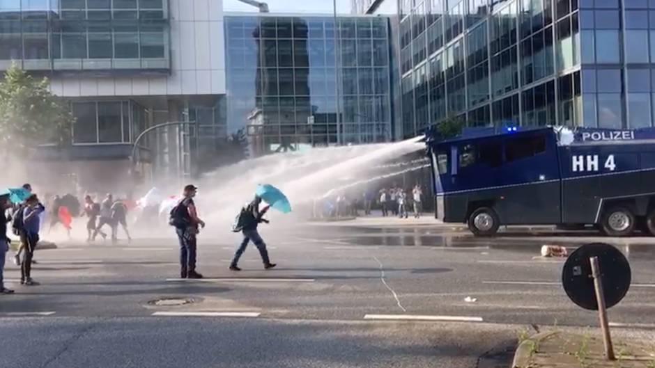G20 in der Elphi: Die Mächtigen gehen ins Konzert, den großen Krach gibt's draußen