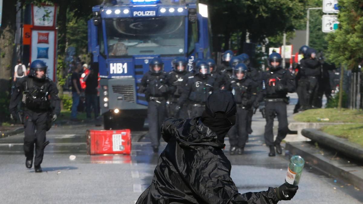 G20-Gipfel in Hamburg: Das Schanzenviertel ist geräumt - Krawalle ...