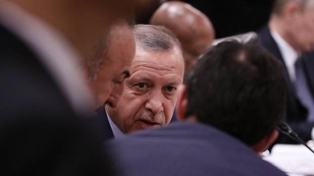 Erdogan beim G20-Gipfel in Hamburg. Dem Konzert in der Elbphilharmonie blieb er fern.