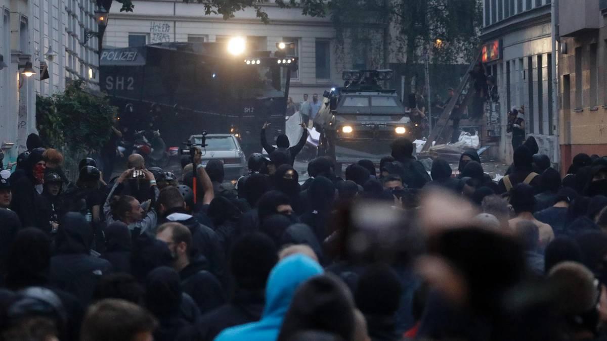 G20-Randale: Krawall um jeden Preis - das ist der Schwarze Block
