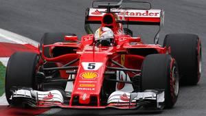 Sebastian Vettel beim Qualifying in Spielberg