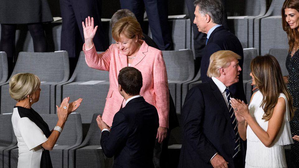 G20-Konzert in Elbphilharmonie: 80 Minuten still sitzen - vielleicht Trumps schwierigste Aufgabe