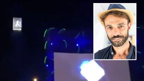 Musikfestival in Spanien: Akrobat stürzt vor Zuschauermenge 30 Meter in den Tod