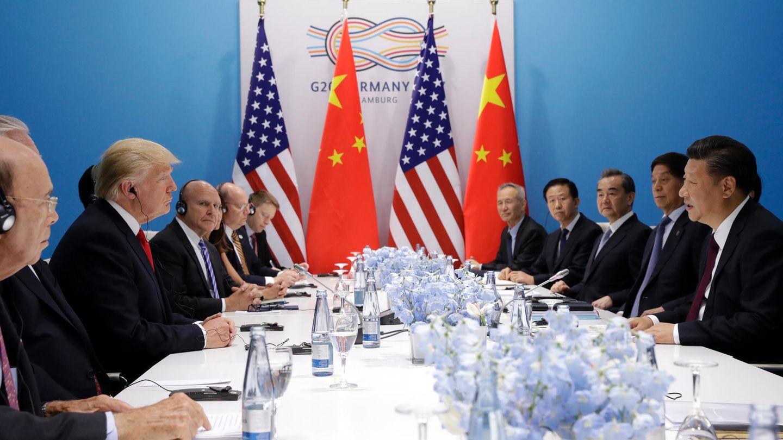 G20: Donald Trump bei Gesprächen mit dem chinesischen Präsidenten Xi Jinping