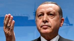 Der türkische Präsident Recep Tayyip Erdogan beim G20-Gipfel