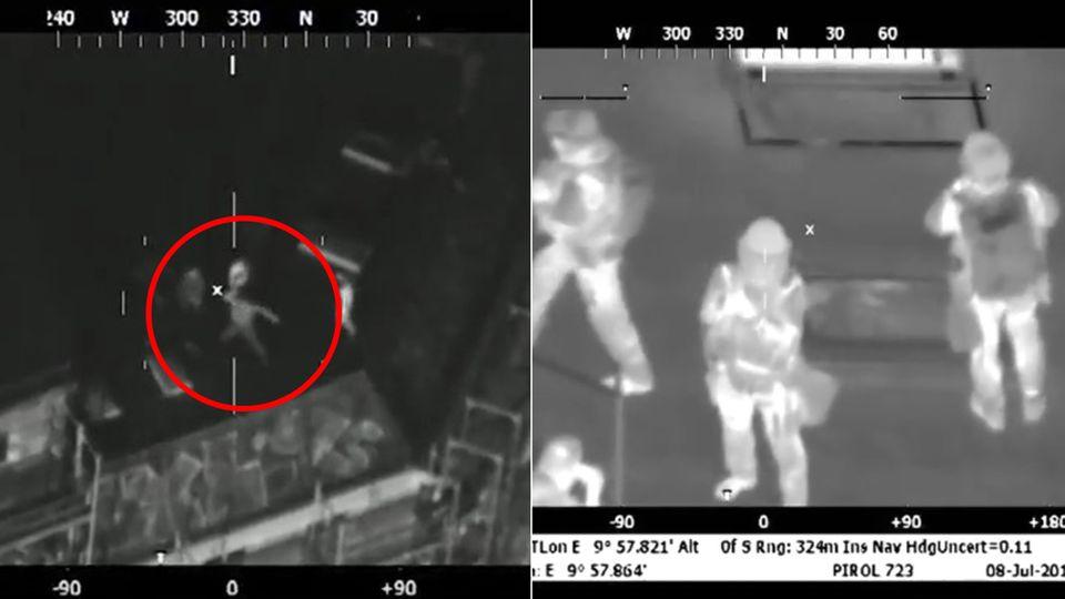 Polizeivideo zeigt Ausschreitungen in der Schanze