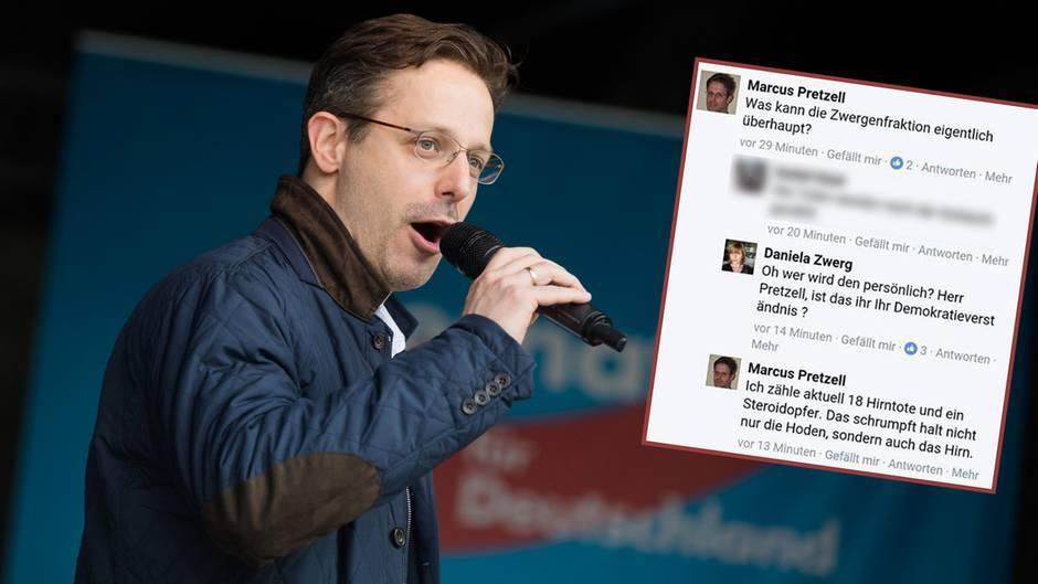 AfD-Mann Marcus Pretzell pöbelt auf Facebook gegen Parteifreunde