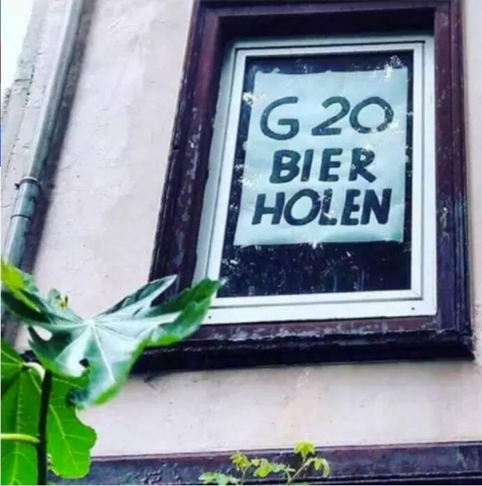 G20-Proteste: Humor statt Gewalt