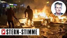 Krawall rund um den G20-Gipfel in Hamburg: Randalierer wüten im Hamburger Schanzenviertel