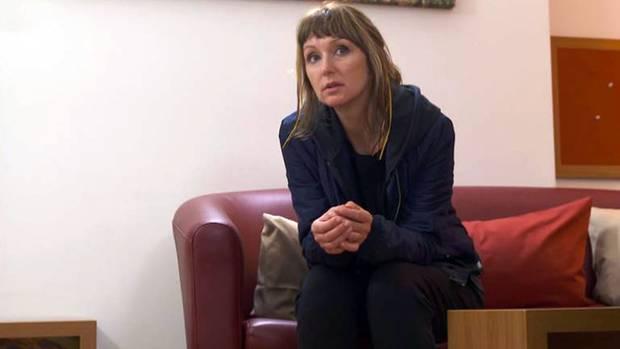 Angekommen: Hanka Rackwitz will sich in den Schön-Kliniken Roseneck einer Therapie gegen ihre Zwangshandlungen stellen.