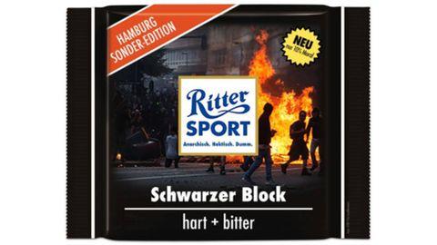 Ritter Sport G20-Edition: Der Snack für Leckermäuler mit Vermummungsfetisch