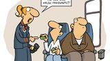 Cartoon-Buch: Absoluter Bahnsinn