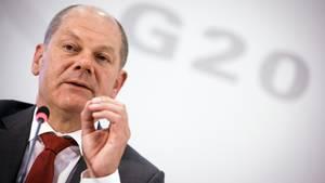 Hamburgers Erster Bürgermeister Olaf Scholz