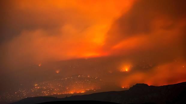 An der Westküste Kanadas wüten derzeit über 200 Feuer