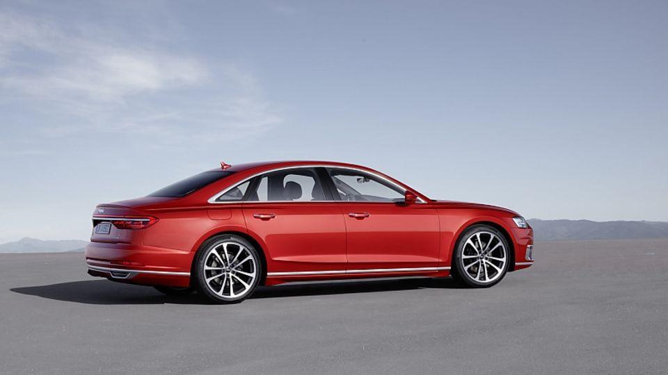 Audi A8 2018 - die Langversion misst 5,30 Meter