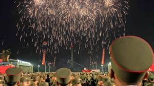 Nordkorea feiert Raketentest frenetisch - mit großer Festgala