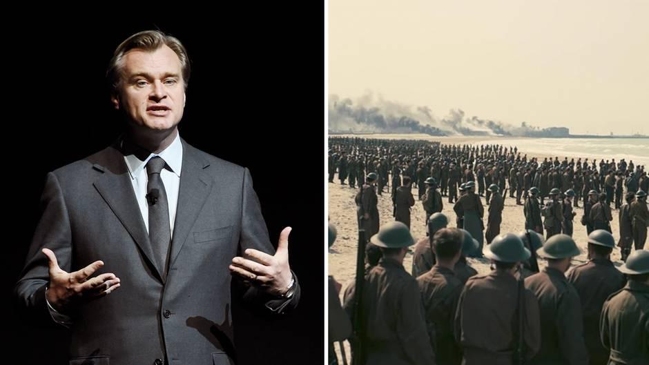 """Kriegs-Epos """"Dunkirk"""": Christopher Nolan: """"Das Publikum wird sich wie mitten im Geschehen fühlen"""""""