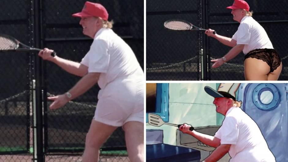 """""""Lucky Loser"""": Bild von Donald Trump sorgt für kreativen Spott im Netz"""