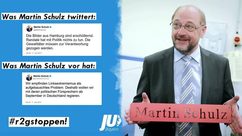 Martin Schulz: Junge Union Bayern verbreitet falschen Tweet von SPD-Kanzlerkandidaten