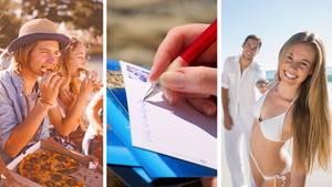 Urlaubsgrafik in Echtzeit