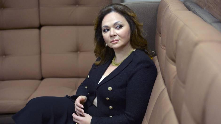 Die russische Anwältin Natalia Veselnitskaya hat sich im Juni 2016 mit dem Sohn von Donald Trump getroffen