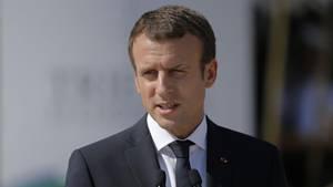 Frankreichs Staatschef Emmanuel Macron