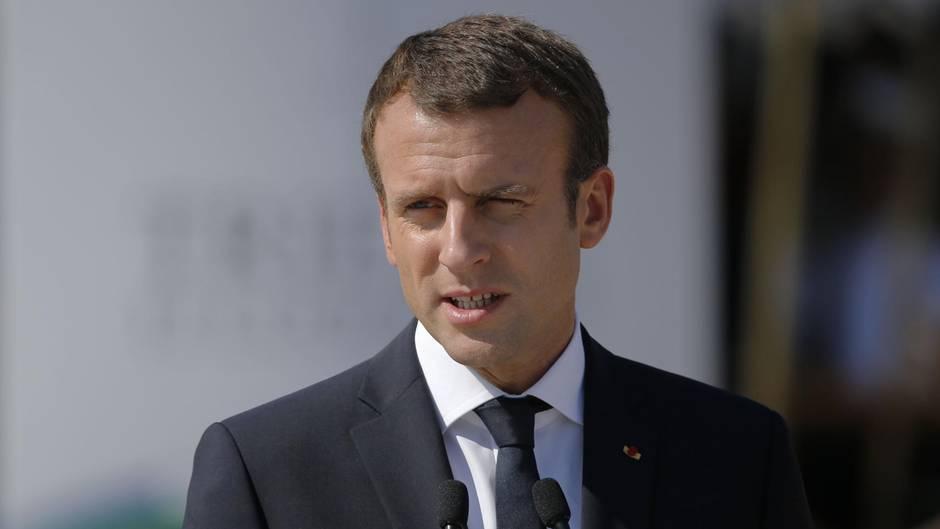 Was lobt Trump an Paris? Frau Macrons Figur!