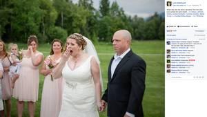 Überraschung am Hochzeitstag: Becky Turney lernt den Mann kennen, der das Spenderherz ihres Sohns erhielt
