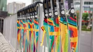 Das Konzept des Regenschirm-Sharings kommt an, es bedarf aber noch etwas.