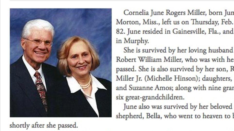 """Screenshot der """"Gegendarstellung"""" von Robert William Miller jr."""