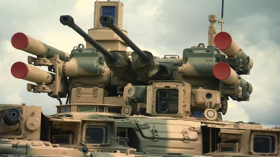 Unterstützungspanzer: Terminator-2: Dieser schwerbewaffnete Russen-Panzer soll in den Städten kämpfen