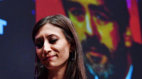 Dilek Mayatürk-Yücel, die Frau des inhaftierten Journalisten Deniz Yücel