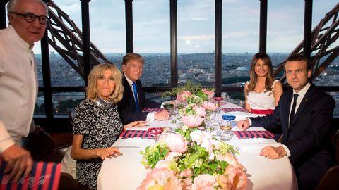 Trump bei Michelin-Koch Ducasse: Gab es wieder Steak mit Ketchup?