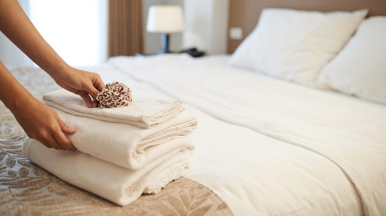 Hotel-Diebesgut Nummer eins: 78 Prozent der befragten Hoteliers berichten, bei ihnen seien schon Handtücher entwendet worden.