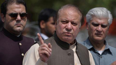 Der pakistanische Premierminister Nawaz Sharif