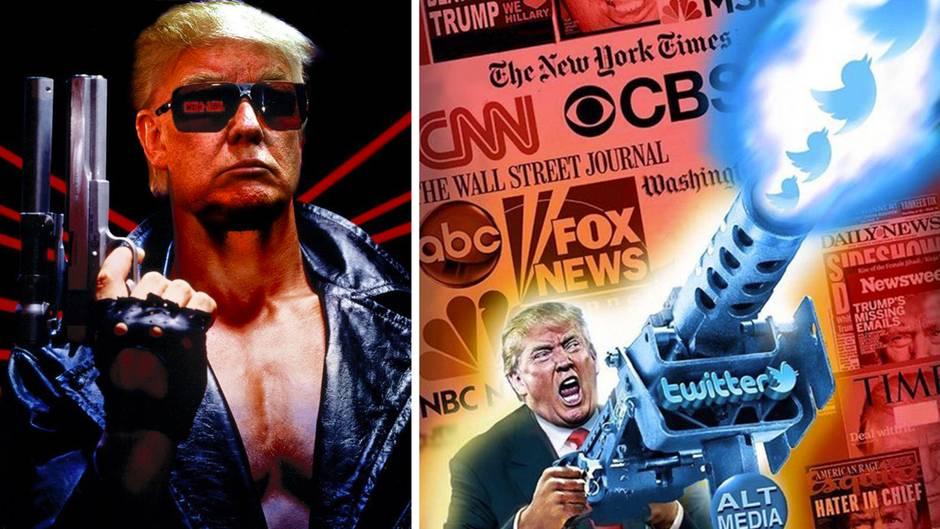 Donald Trump: Die bizarren Reaktionen seiner Unterstützer bei Twitter