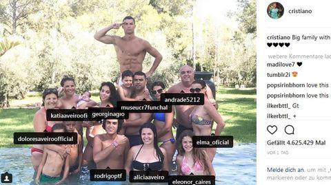 Ronaldo Familie
