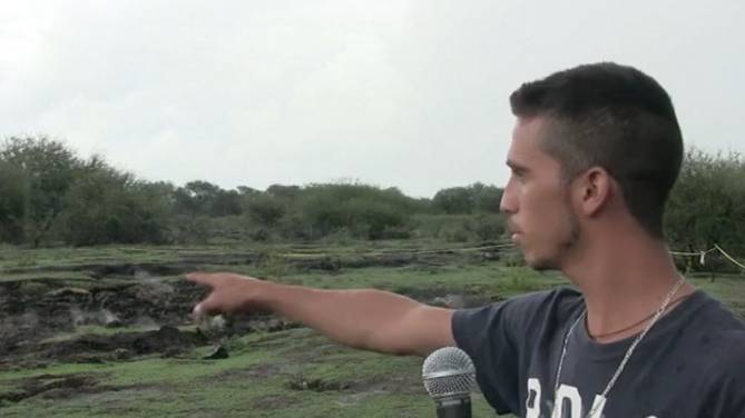 Mexiko: Heißer Boden auf Bolzplatz: Dorfbewohner fürchten Geburt eines Vulkans