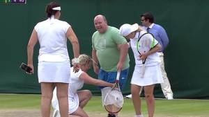 Wimbledon Kim Clijsters Fan