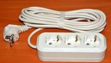 Billiger Elektroschrott: Mehrfachsteckdose