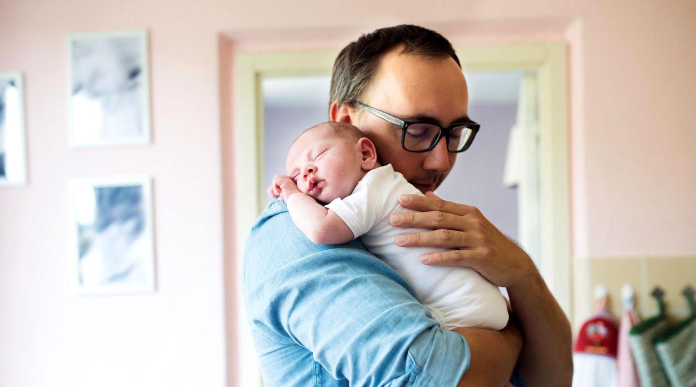 Vater in Elternzeit