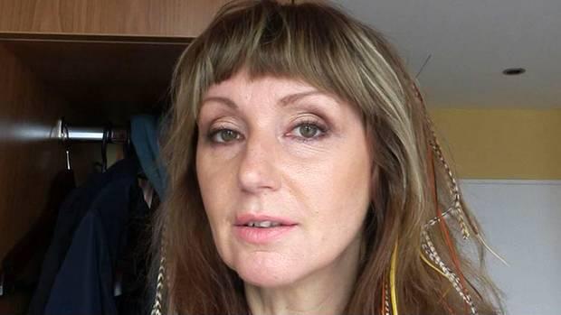 Hanka Rackwitz in ihrem Videotagebuch.